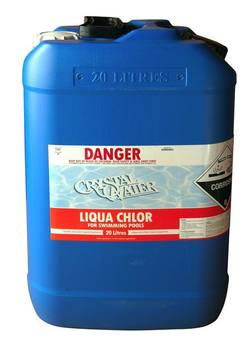 Buy Liquid Chlorine 20L (container additional) in NZ New Zealand.