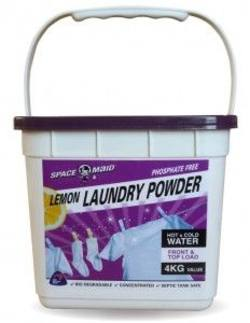 Buy Space Maid Lemon Laundry Powder 4kg in NZ New Zealand.